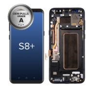 GENUINE-SAMSUNG-GALAXY-S8-PLUS-LCD-SCREEN-TOUCH-DIGITIZER-ASSEMBLY-WITH-FRAME-OEM-PULLS-GRADE-A-MIDNIGHT-BLACK-FRAME