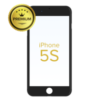 GLASS-WITH-FRAME-FOR-IPHONE-5S-BLACK-PREMIUM-PACK-OF-2