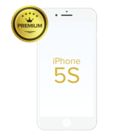GLASS-WITH-FRAME-FOR-IPHONE-5S-WHITE-PREMIUM-PACK-OF-2