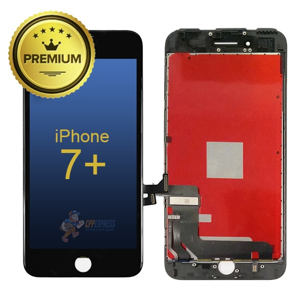 LCD ASSEMBLY FOR IPHONE 7 PLUS (PREMIUM QUALITY) (BLACK)