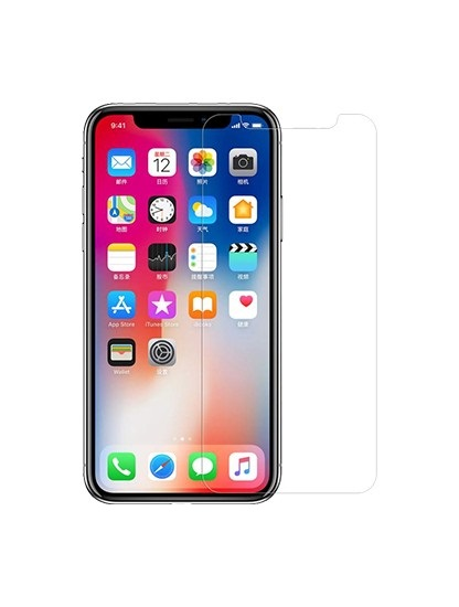 TEMPERED-GLASS-FOR-IPHONE-X-CLEAR-SERIES-FRONT
