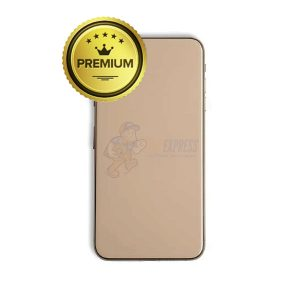 iphone xs max back glass housing pre-installed small parts - premium - gold ixsmaxhs-gld-1