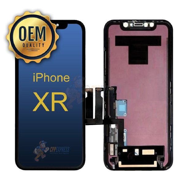 OEM-iPhone-XR-LCD-Touch-Screen-Ditigizer-Black-OEMXR-LCD-BLK