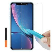 Tempered-Glass-For-iPhone-XR-LED-Light-Glue-Plus