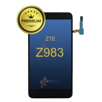 ZTE-983-LCD-Assembly-Wout-Frame-Black-Z983LCD-BLK