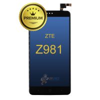 ZTE-Z981-LCD-Assembly-W-Frame-Black