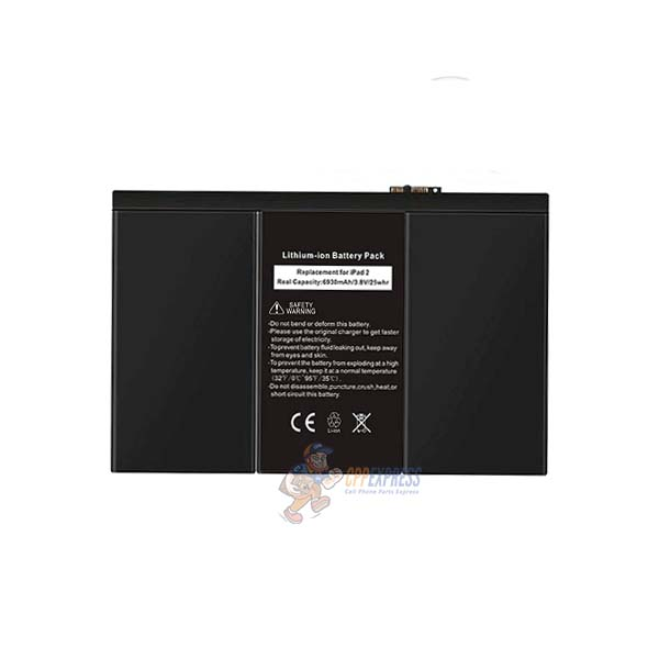 iPad 2 Premium Replacement Battery - cell phone parts express
